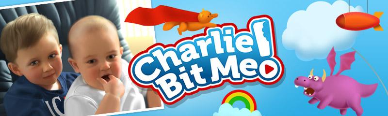 Charlie bit me!